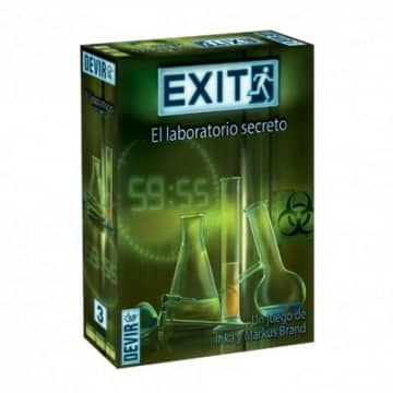 EXIT: Laboratorio Secreto