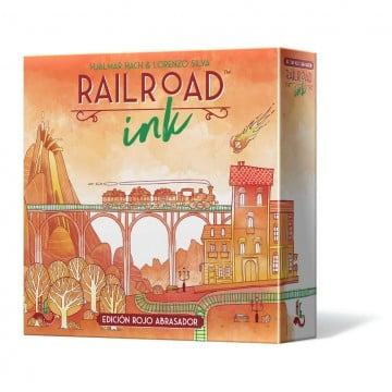 Railroad Ink. Ed. Rojo Abrasador