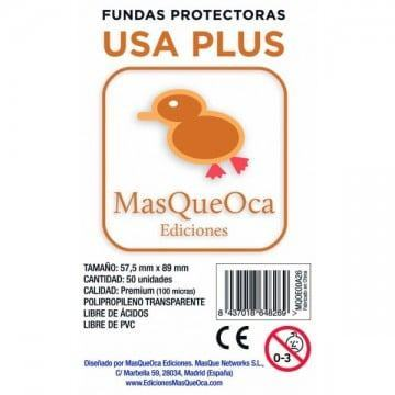 Fundas Usa Plus Premium 57.5x89 MQO (50)