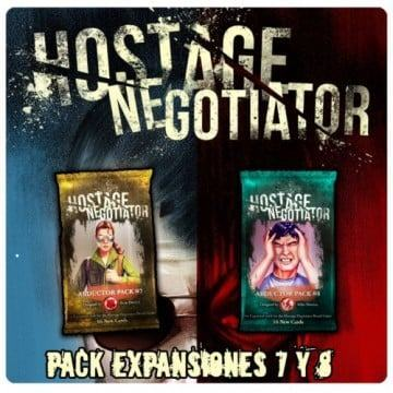 HOSTAGE NEGOTIADOR - EXPANSIONES 7 Y 8